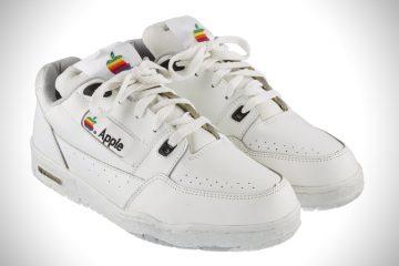Oldschoolowe sneakersy Apple trafiły właśnie na aukcję<