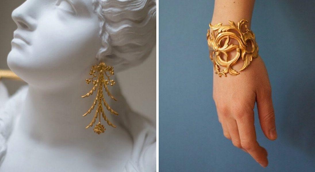 To nie jest biżuteria dla minimalistów. Projektantka Ella Zubrowska stawia na barok