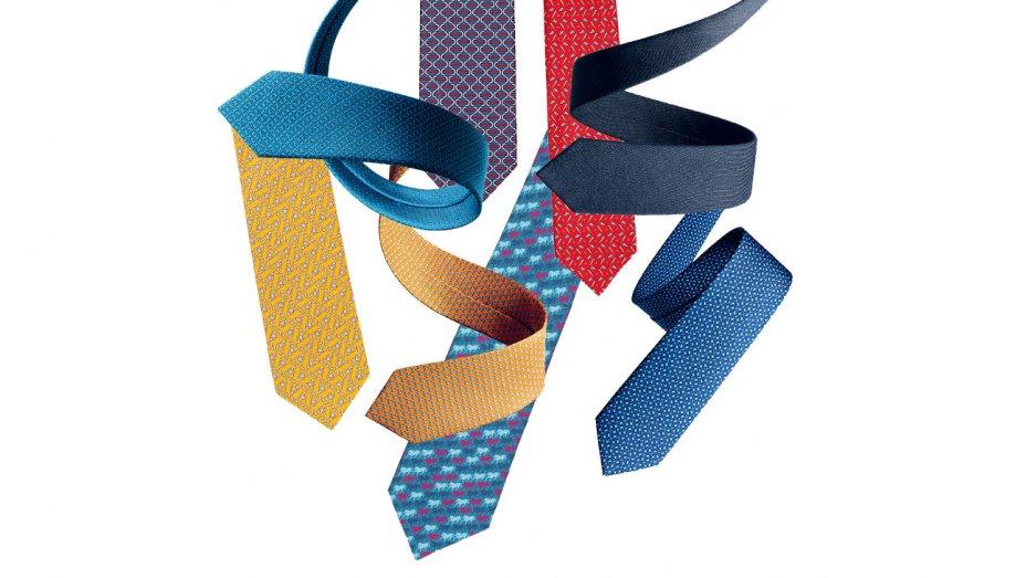 Hermès wprowadza subskrypcję na jedwabne krawaty