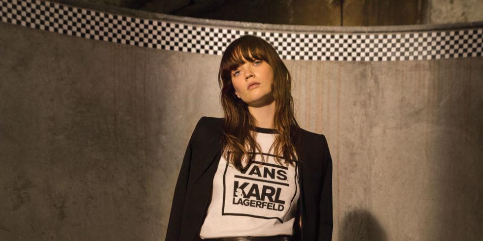 Oto pierwsze zdjęcia projektów Karla Lagerfelda dla Vans