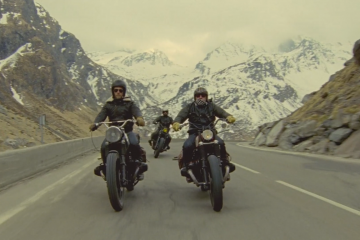 Ten krótki film, nakręcony na taśmie 16 mm sprawi, że zapragniecie wybrać się na motocyklowy road trip