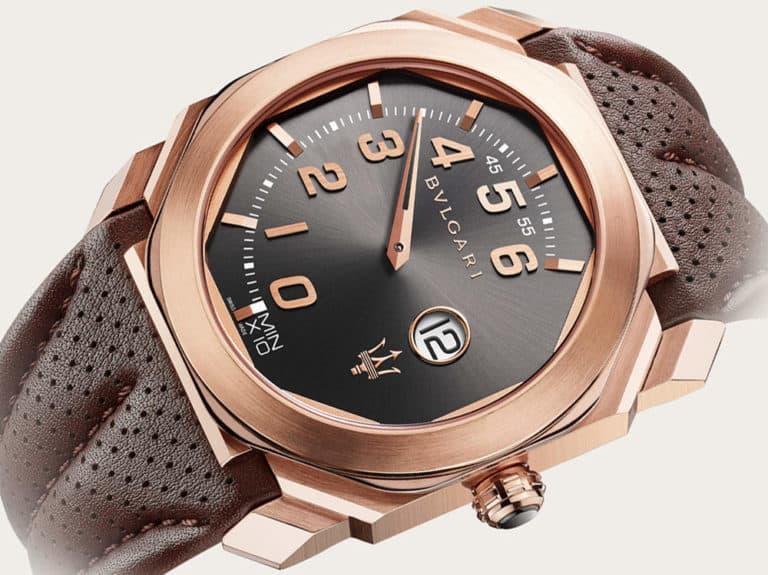 Maserati i Bulgari łączą siły, by zaprezentować przepiękny zegarek w wersji eleganckiej i sportowej