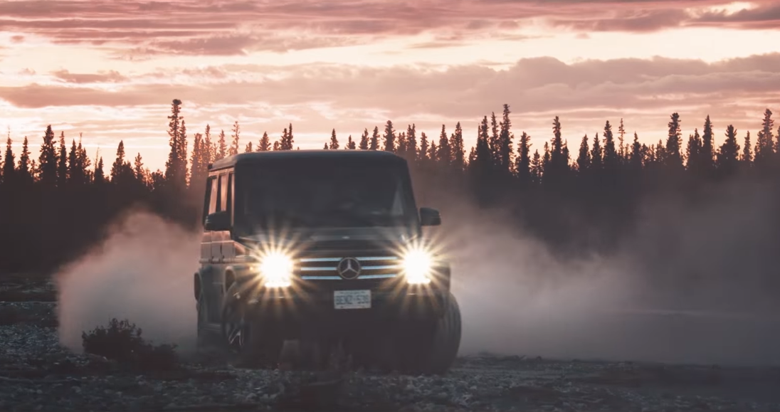 Zobaczcie montaż z ekstremalnej wyprawy przez Kanadę i Alaskę w Mercedesie klasy G