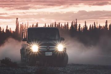 Zobaczcie montaż z ekstremalnej wyprawy przez Kanadę i Alaskę w Mercedesie klasy G<