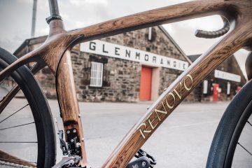Renovo i Glenmorangie prezentują rower, wykonany z drewna pochodzącego z beczek po whisky<