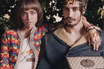 Gucci zagląda do domów mieszkańców Rzymu w nowej kampanii Roman Rhapsody