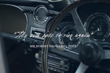 Czy renowacja samochodu może być poetycka? W przypadku Astona Martina DB5 na pewno