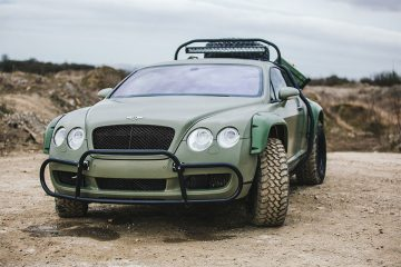 Off-roadowy Bentley Continental GT to prawdziwy unikat