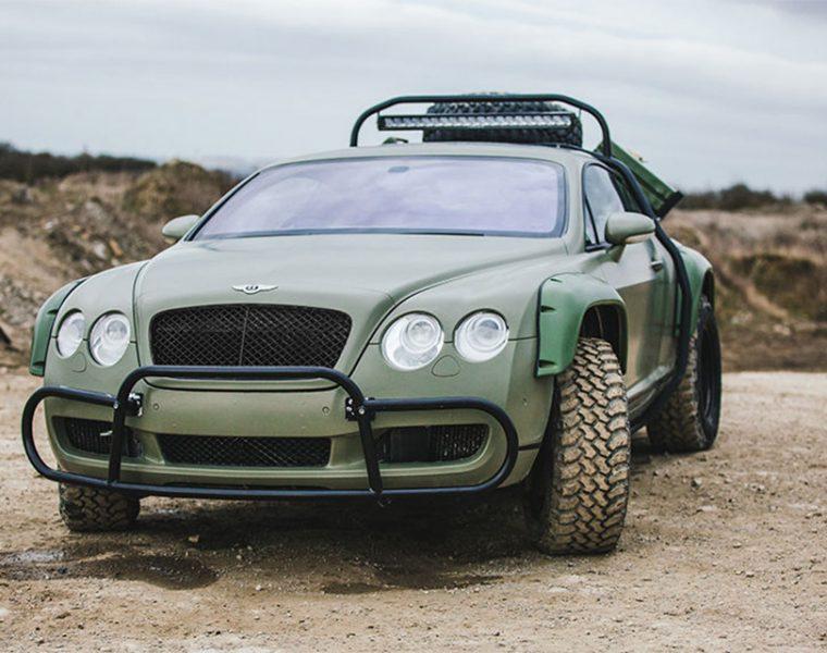 Off-roadowy Bentley Continental GT to prawdziwy unikat