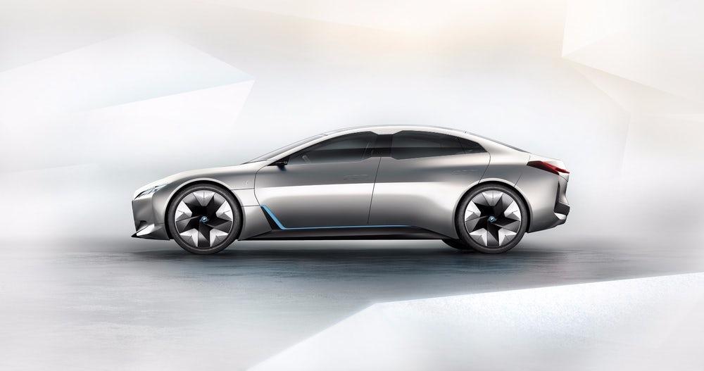 BMW zapowiada stylową jazdę w elektrycznym Gran Coupe i Vision Dynamics