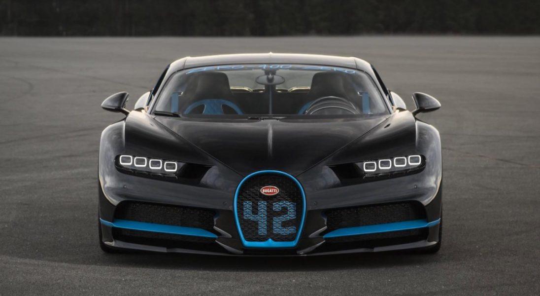Zobaczcie jak Bugatti Chiron rozpędza się do 400 km/h w rekordowo krótkim czasie
