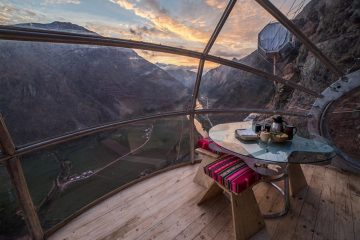 W Peru spędzicie noc w gnieździe kondora, zawieszonym na wysokości 400 metr&oacute;w<