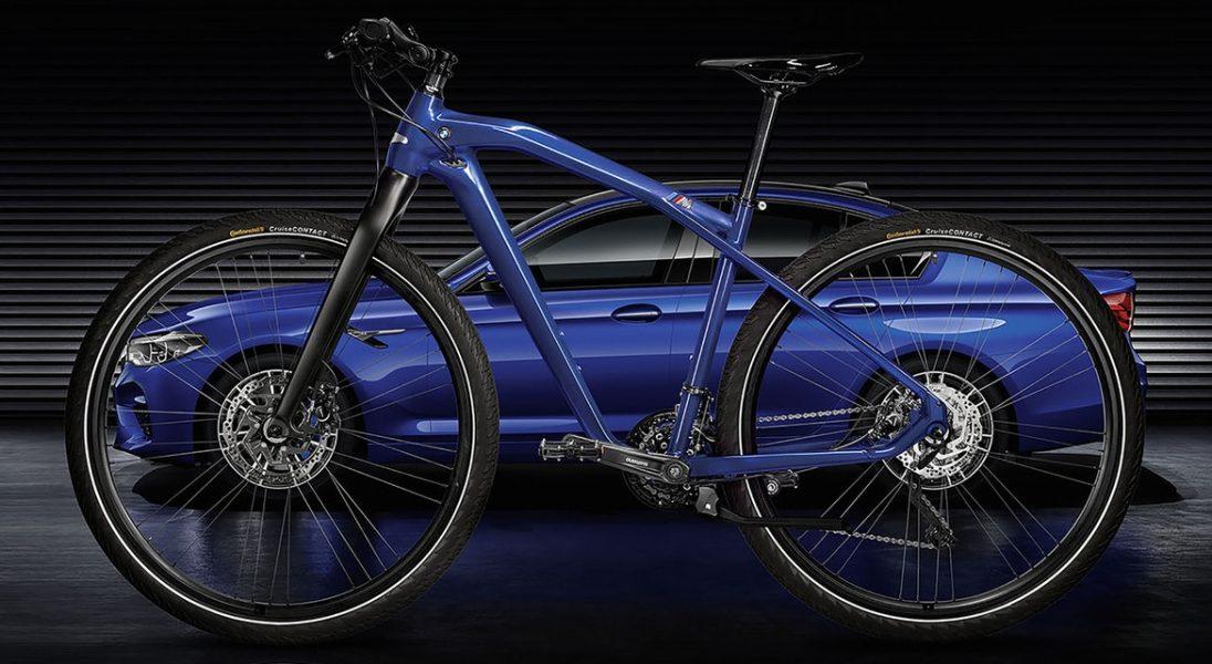 Zamówiłeś już swoje BMW M5? Teraz możesz mieć też rower do kompletu
