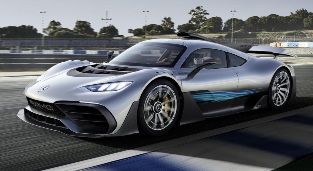 Tak wygląda oszałamiający Project One - hipersamochód o mocy 1000 KM od Mercedes-AMG