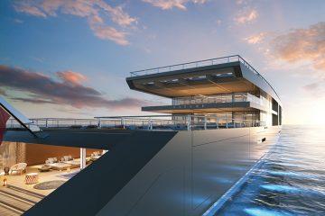 Tak wygląda przepiękny projekt 120-metrowego jachtu Nature