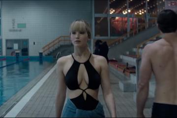 Jennifer Lawrence jest zawodową uwodzicielką w trailerze do filmu Czerwona Jaskółka