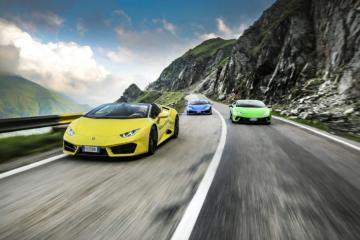 Zobaczcie, jak sześć Lamborghini Huracán testuje najpiękniejsze drogi w Transylwanii