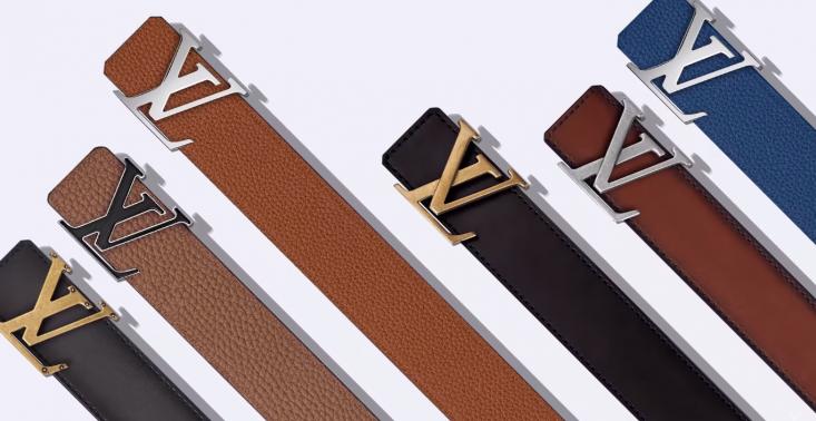 4b4518ea7ebbe Klienci Louis Vuitton będą mogli zaprojektować swoje własne paski z logo  marki<