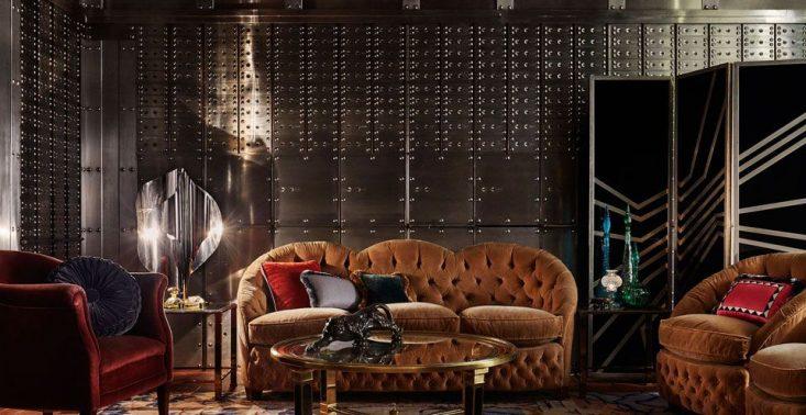 Ten londyński hotel wygląda jak ekskluzywny klub dla gentleman&oacute;w z lat 20.<