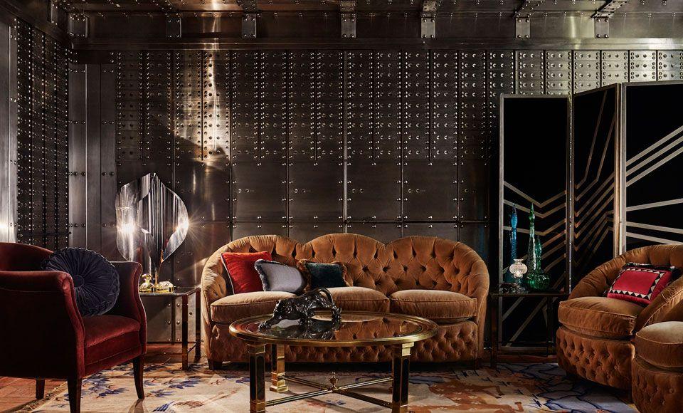 Ten londyński hotel wygląda jak ekskluzywny klub dla gentlemanów z lat 20.