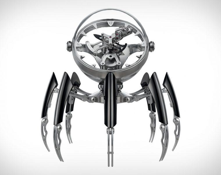 Octopod Clock to niesamowity i precyzyjny zegarek, zainspirowany podwodnymi stworzeniami