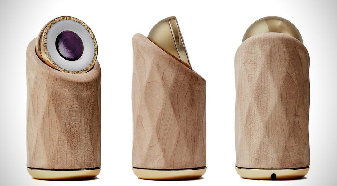 Systemy do monitorowania domu Halo Home, to świetnie zaprojektowane kamery, które wyglądają jak ciekawe elementy wystroju wnętrza