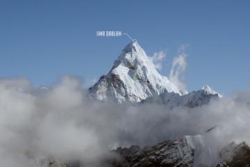 Zobaczcie rewelacyjny film, pokazujący szczyty Himalajów z wysokości 6000 metrów