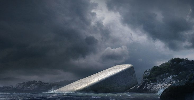 Można już rezerwować stoliki w pierwszej podwodnej restauracji w Norwegii<