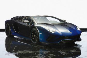 Pięć nowych, zachwycających Lamborghini Aventador S Roadster trafi na japoński rynek