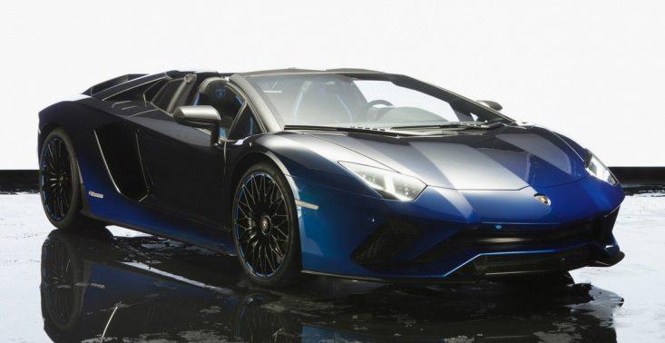 Pięć nowych, zachwycających Lamborghini Aventador S Roadster trafi na japoński rynek<