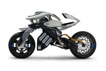 Oto Yamaha MOTORiD Concept- pierwszy motocykl, sterowany przez sztuczną inteligencję<