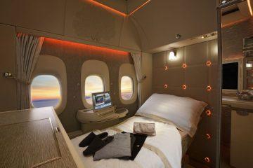 Emirates, Mercedes-Benz i Jeremy Clarkson prezentują nowe, superluksusowe kabiny w pierwszej klasie<