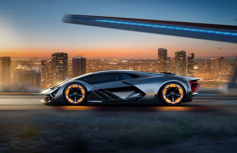Oto obłędny, elektryczny samochód koncepcyjny stworzony przez Lamborghini we współpracy z naukowcami z MIT