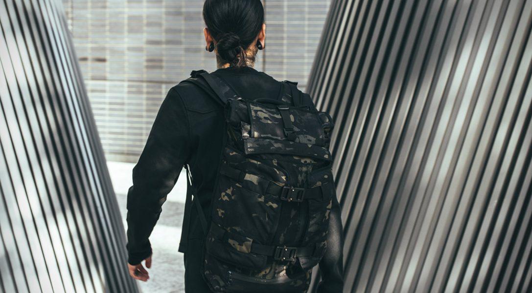 The Rhake to idealny, wodoodporny plecak do miasta i na wyprawę