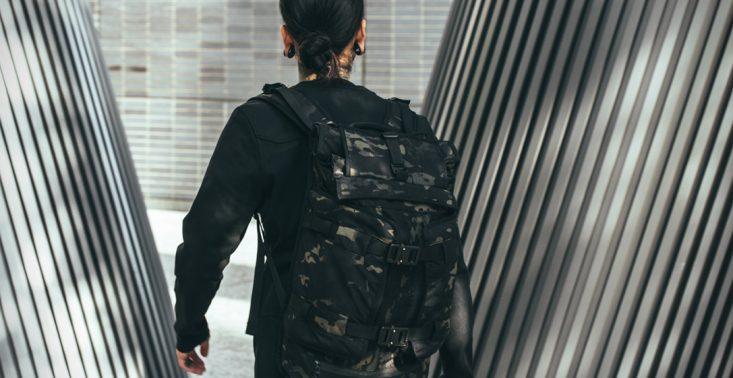 The Rhake to idealny, wodoodporny plecak do miasta i na wyprawę<