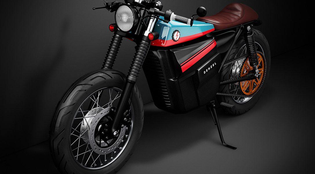 Ten stylowy koncept przenosi klasyczną Hondę 125cc Cafe Racer do XXI wieku