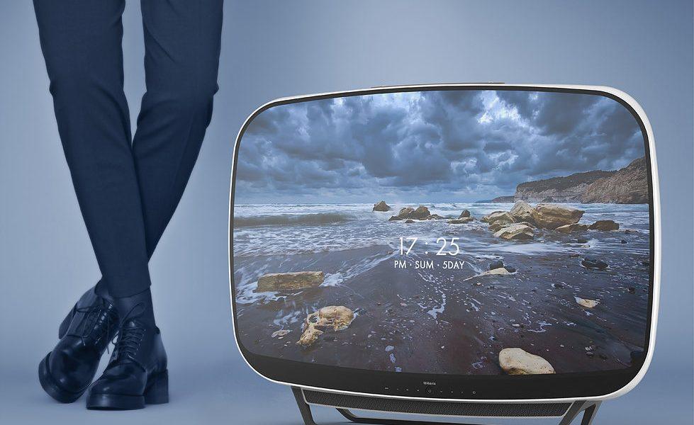 Retro-futurystyczny telewizor z lat 60. doczekał się swojej współczesnej wersji