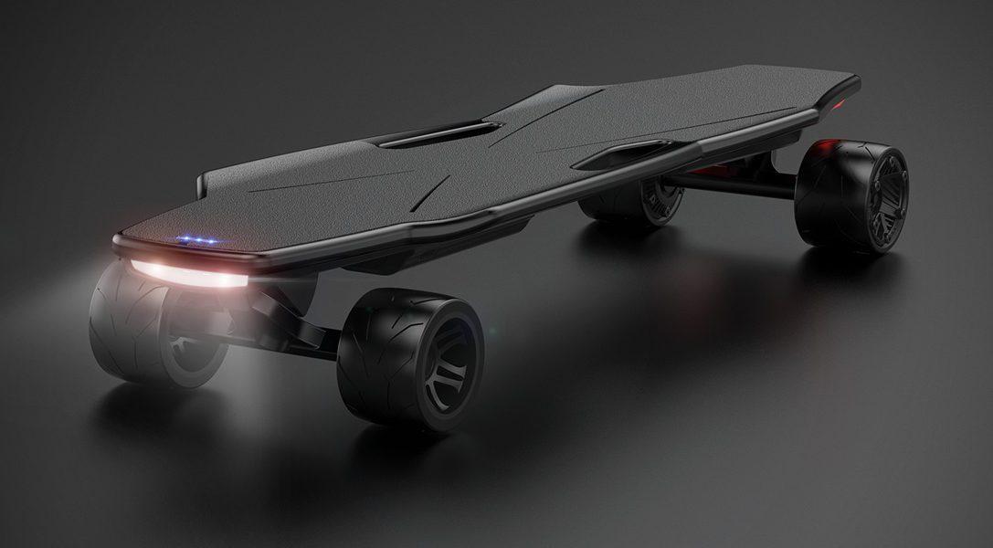 StarkBoard to elektryczna deskorolka sterowana za pomocą ruchów ciała