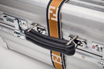 Fendi i RIMOWA stworzyły stylową i wytrzymałą walizkę z aluminium<