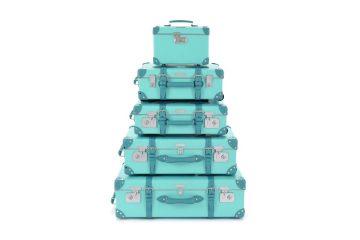 Tiffany &amp; Co. i Globe-Trotter stworzyły limitowaną kolekcję walizek w kolorze Tiffany Blue<
