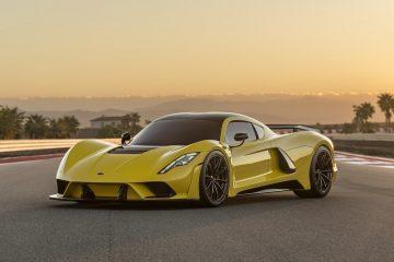Hennessey Venom F5 to najszybszy samochód świata, który rozpędza się do 400 km/h w 30 sekund
