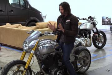 Keanu Reeves buduje swoje własne motocykle. Zajrzyjcie do jego warsztatu Arch Motorcycle