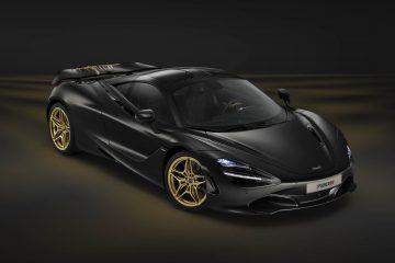 McLaren przygotował, pokrytą złotem wersję modelu 720S na Dubai International Motor Show
