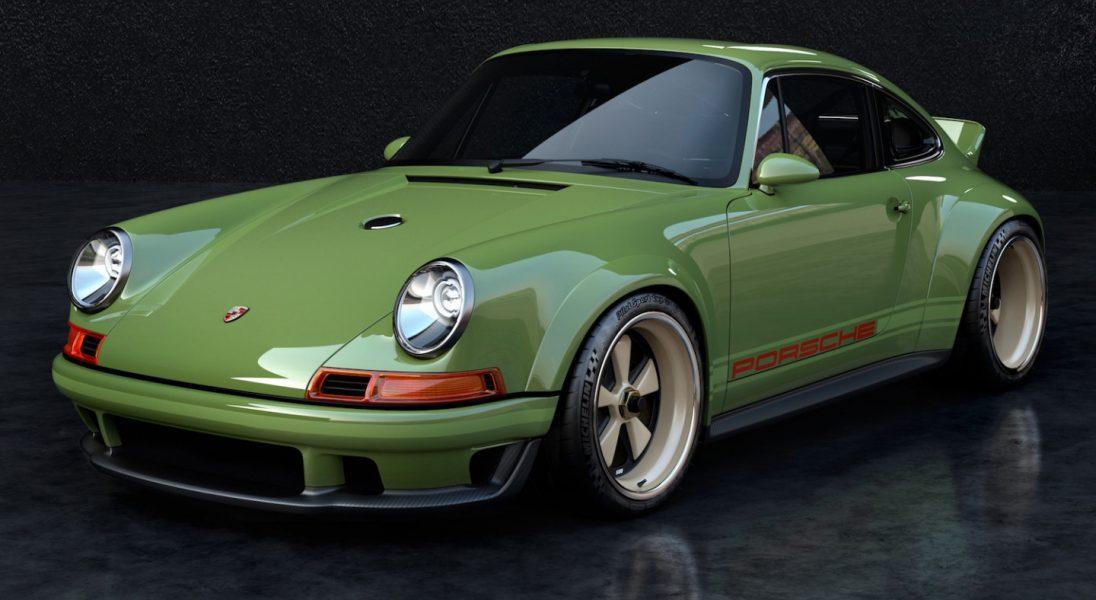 To oldschoolowe Porsche 911 z 1990 roku, to pierwszy tego typu model z silnikiem o mocy 500 KM