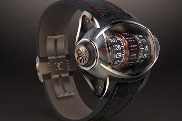 Germain Baillot zaprezentował zegarek koncepcyjny inspirowany budową silników odrzutowych