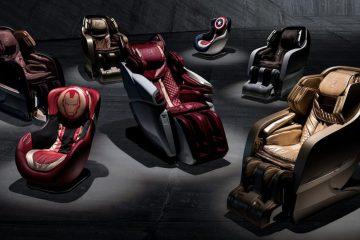 Teraz możecie zrelaksować się w fotelu z masażem od Lamborghini i Bodyfriend