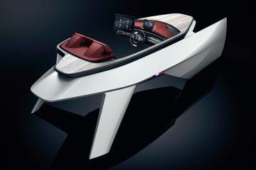 Peugeot zaprezentowało Sea Drive Concept - łódź przyszłości z technologią stosowaną w SUV-ach marki