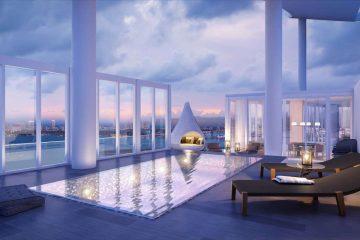 Przepiękny penthouse w Biscayne Beach Residences może być twój za 10 milionów dolarów
