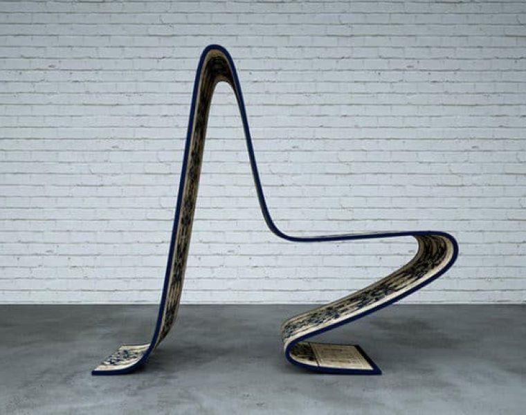 Latający dywan Alladyna stał się inspiracją do zaprojektowania niesamowitego krzesła