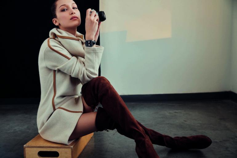 Bella Hadid sygnuje swoim nazwiskiem limitowaną edycję zegarków Tag Hauer